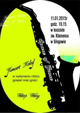 2015-01-08 plakat: koncertt kolędowy klemens