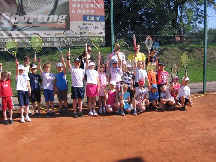 """Turniej tenisa ziemnego """"Dzień Dziecka ze Sportingiem"""" @ Korty miejskie przy Chrobrym Głogów S.A."""