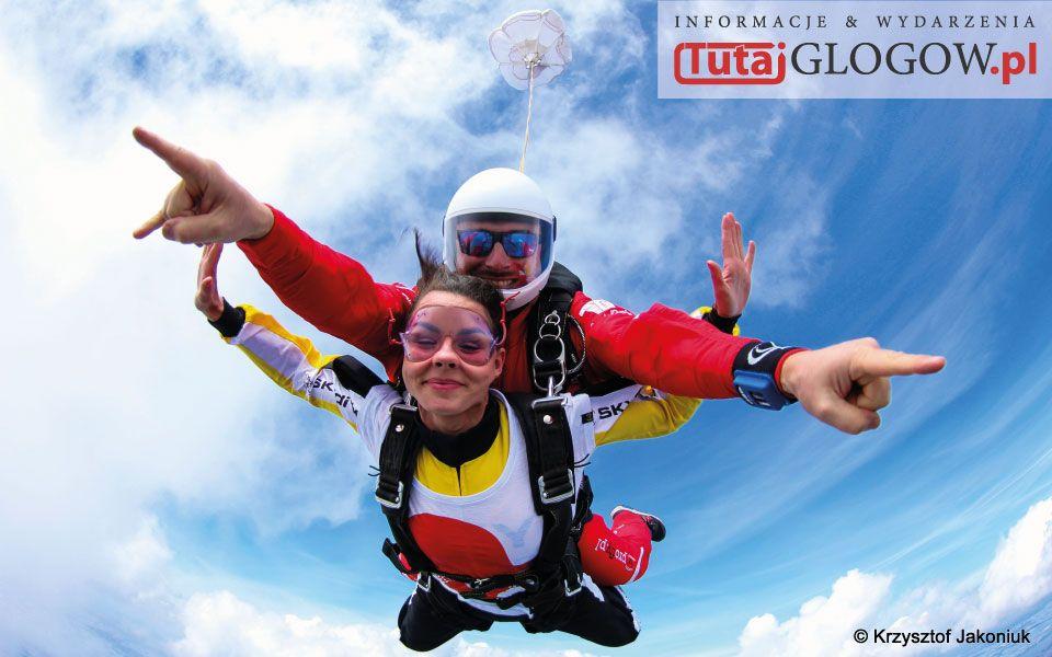 TutajGLOGOW.pl Skoki spadochronowe na prezent